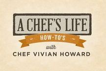 A Chef's Life | 20 How-To's with Chef Vivian Howard / Need a little coaching in the kitchen? We're excited to bring you exclusive videos on all the basics of cooking from the kitchen of Chef Vivian Howard.