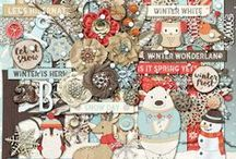 {Winter Frost} Digital Scrapbook Collection by Magical Scraps Galore