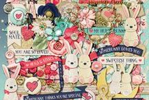 {Hunny Bunny} Digital Scrapbook Collection by Magical Scraps Galore