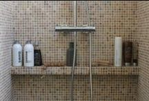 Mozaïek tegels badkamer