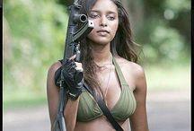 Guns and camo bikinis