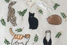 Embroidery / Bordados bonitos