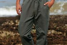 Men's Canton Pants / All the comfort of your favorite pair of sweatpants, but in an island style that's perfect for work or play! Our Canton Pants offer a versatility that a simple pair of jeans just can't match. Made from heavyweight cotton canton fabric lined with an ultra soft fleece interior, these pants are both comfortable and durable. Get yourself the very best and try a pair of our Canton pants today! / by Crazy Shirts