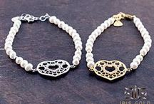 Iris Gold - Pearl bracelet / New pearl bracelet for spring-summer 2014