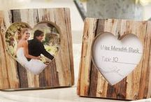 Wood Favors for Weddings / Here you will find many creative ideas of wood favors for the wedding day.