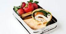 Lunchbox ideeën / Een lekkere lunchbox hoeft niet moeilijk te zijn. Op dit bord vind je verschillende lunchbox ideeën om je lunchbox lekker te vullen.  Op The answer is food wordt elke maandag een nieuw lunchbox recept geplaatst: http://theanswerisfood.com/lekkere-lunchbox/