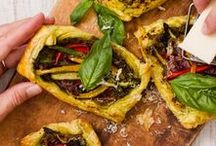 Snelle vegetarische recepten / Ook als vegetariër heb je niet altijd veel tijd om te koken. Dit bord vol met snelle vegetarische recepten is dan ideaal om inspiratie op te doen.