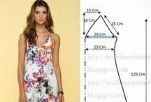 Ladies' Chemise pattern / Выкройка женской сорочки