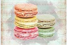 Dessert: Macarons