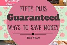 $ Saving Tips / Saving Money!