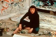 Joan Mitchell / Abstract expressionism, New York School