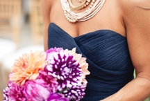 Navy and Purple Wedding / Navy and purple wedding ideas and inspiration