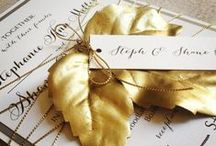 Fall in Love / Wedding inspiration for the best season of the year!  Champagne Press would love to make your wedding invitations for your fall wedding!