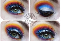 Sailor Moon Series! / Because I deeply adore Sailor Moon since childhood I decided to create bold and colorful looks of all the brave and beautiful Sailor Soldiers in order to always keep them in mind