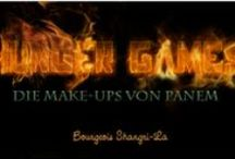 Hunger Games Make-Up / Don't we all love Katniss, Peeta and Gale? We sure do! And don't we all love Hunger Games inspired make-ups? That's why I want to share my looks with yo!u!