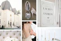 W E D D I N G   W H I M S Y / Grey wedding inspiration which compliments Champagne Press' Wedding Whimsy invitation collection.