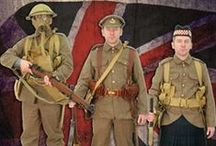 Soldier of Fortune Replica British WW1 Uniforms  / Soldier of Fortune show you what you need to recreate many uniforms from the first world war. Each uniform contains information on who was wearing it and why. Many of the items are available to purchase from Soldier of Fortune