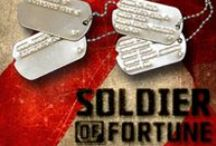 Soldier of Fortune American WW2 Dog Tags