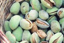 amandes, pistaches, noix, etc