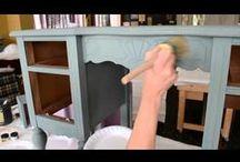 bútorfelújítás / otthon elvégezhető bútor felújítás