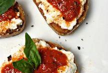 Petits plats / Idées de délicieux petits déjeuners, lunch, en-cas et diners