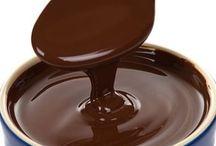 Chocolate Mania / Chocolate / Chocolat / Schokolade / σοκολάτα / cioccolato / çikolata, etc...  Pins not related will be deleted.