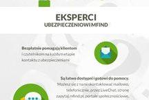Jak mfind.pl pomaga internautom? / Seria grafik opowiadająca o tym jak pomagamy internautom w rozwiązywaniu problemów związanych z ubezpieczeniami, doborze odpowiedniego ubezpieczenia OC/AC i jak działają bezpłatne porady naszych ekspertów.