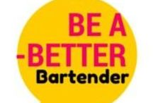 Be A Better Bartender | Tips + Tricks / A selection of blog posts from our site that will help you become a better bartender