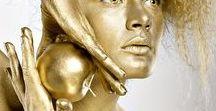 Glorious gold ✿⊱╮