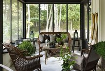 An outside room--a screened porch / by Roseann Bellini