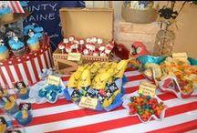 Drengefødselsdag   Boys Birthsdays / Inspiration til fødselsdagsfester for drenge. Temafester, mad, pynt, kager, invitationer  Boy Birthdays