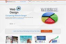 DeCarlo Studios VA Web Site Design / Samples of compelling web site designs DeCarlo Studios has created for companies in the Northern Virginia area.