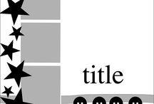 SKETCHS / Modèles de mise en page de scrap