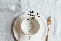 gather / table settings, feasts, lunches, dinners