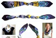 Scarves: Tips and Uses / product lines we carry and a few helpful tips on how to wear them