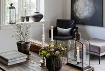 Creating with Candles / Using candles in your home as a decorative display feature