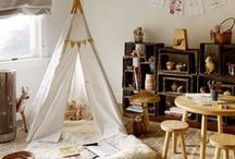 tipi i namioty dla dzieci / tepees and tents for children's rooms