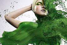 Shades of Green ✿⊱╮