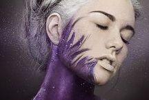 Shades of purple ✿⊱╮ / by Aleka ✿⊱╮