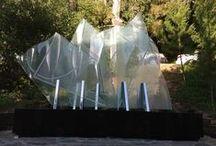 Sculpture / Glass & Metal Sculpture