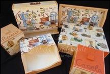 Artigos em madeira para cozinha / Caixas de chá, para cápsulas de café, tabuleiro, caixas para açúcar ou canela, guardanapeiras, tábuas de cozinha, quadros, ...