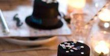 Zauberer Party / Kindergeburtstag, Party-Motto Zauberei, Tischdekoration, Einladungen, Girlanden, Mitgebsel, Party-Essen, DIY