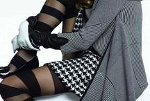 Fashion - Houndstooth, Tweed, Plaid / by Takeo Aoki