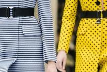 Fashion - Dot, Stripe, Geometric / by Takeo Aoki