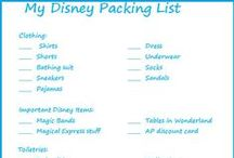 Trip Planning / Tips for planning your trip to Disney before you leave home.
