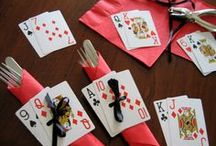 Casino Themed Decorations / Fun ideas to bring the action of the casino floor to your home or event.