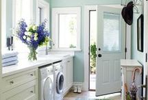 Laundry/mud/craft space / by danielle thevintagechronicles