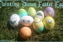 Disney in the Spring / Celebrate and decorate for Easter and the springtime Disney style!