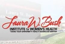 Women's Health / For more information about women's health please visit: www.laurabushinstitute.org