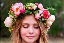 ▲ COURONNES FLEURS HAIR ▲ / Reines d'un jour: portez une couronne fleurie